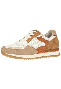 Gabor - Sneaker low - weiss/beige k(rex) - 1
