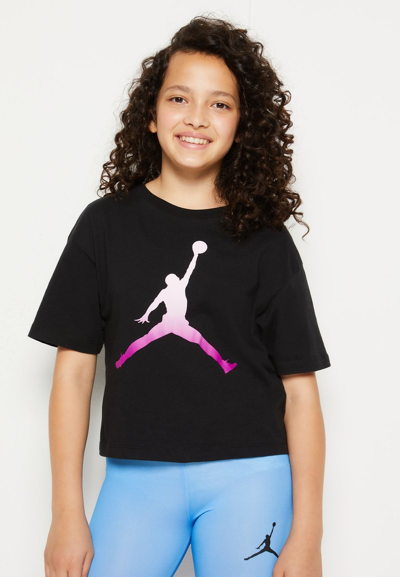 Jordan - SHORT SLEEVE GRAPHIC  - T-shirt z nadrukiem - black