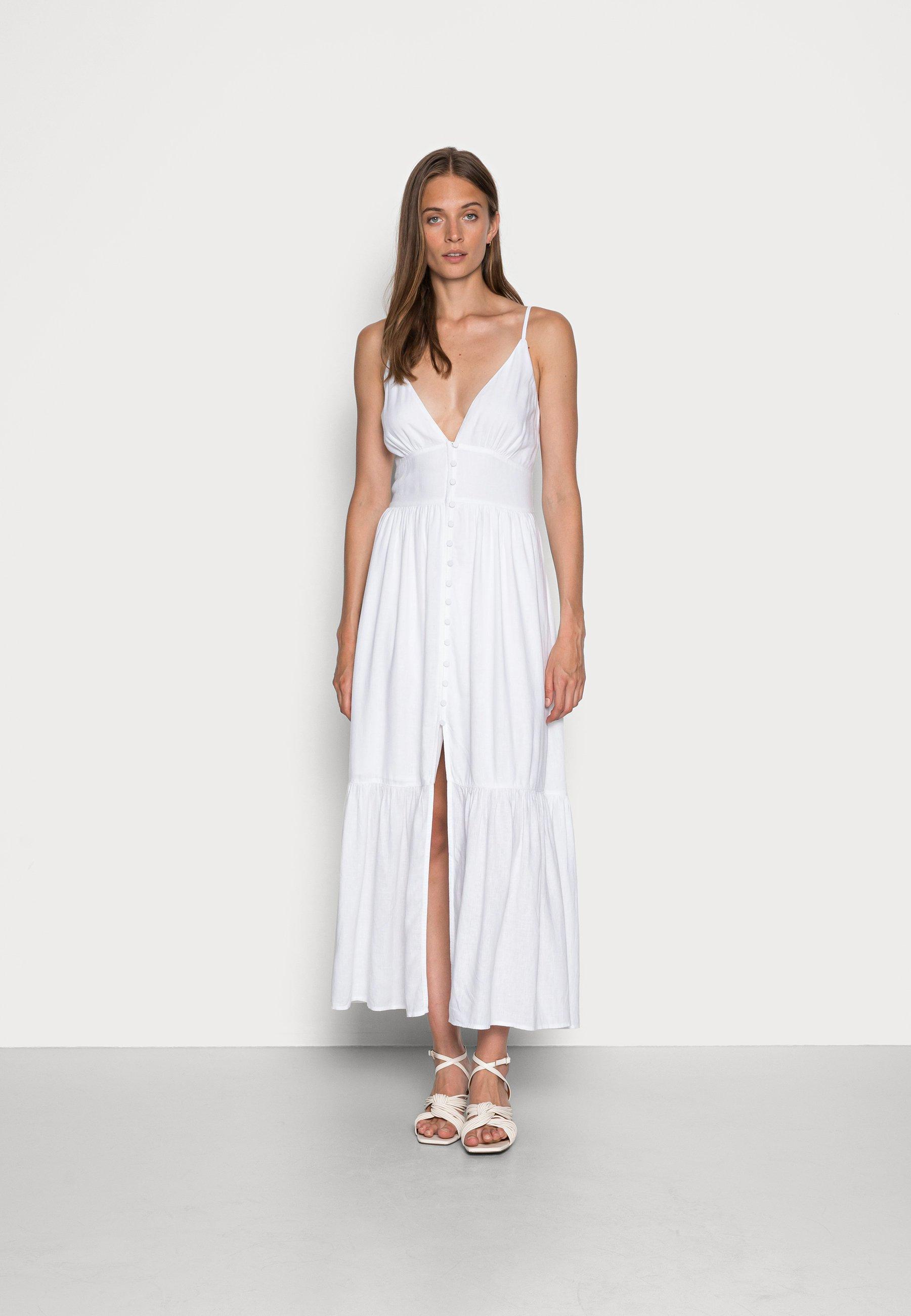 Women RESORT BUTTON DRESS  - Maxi dress