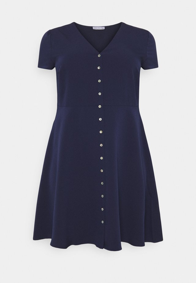 Shirt dress - dark blue