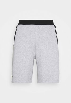 SHORT - Sports shorts - silver chine/black