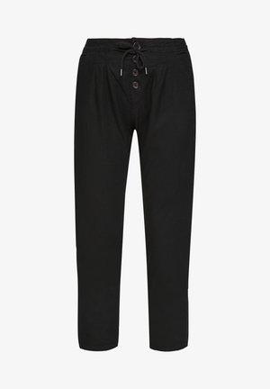 REGULAR FIT - Pantalon classique - black