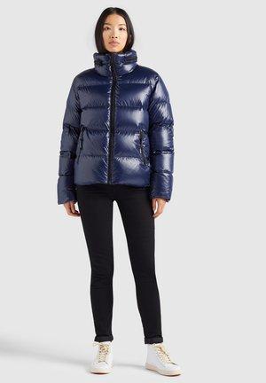 ZELIHA  - Down jacket - dunkelblau glänzend