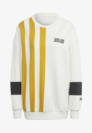 GIRLS ARE AWESOME - Felpa - off-white