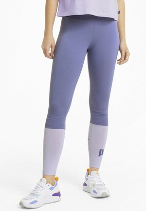 Leggings - hazy blue