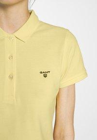 GANT - THE SUMMER - Polo - lemon - 5