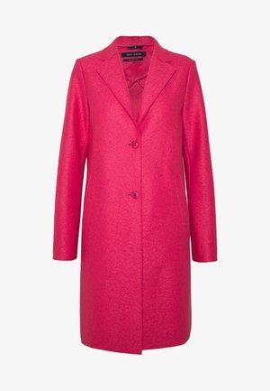 Classic coat - blazing berry