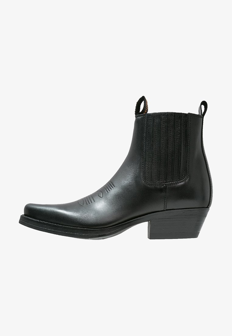 Kentucky's Western - Cowboy/biker ankle boot - black
