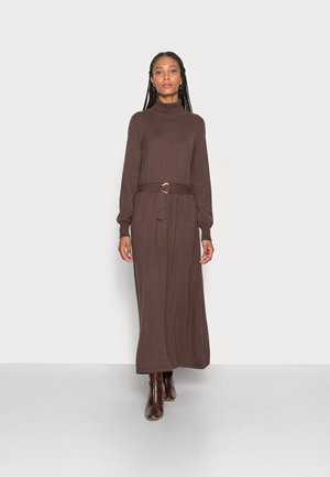 CORE  - Jumper dress - dark brown