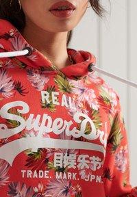 Superdry - Hoodie - brushed pink palm - 1