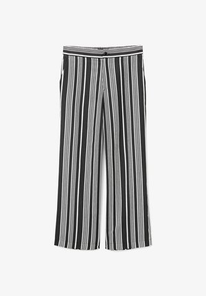 Trousers - multi/black