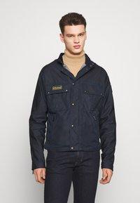 Belstaff - INSTRUCTOR JACKET - Summer jacket - dark ink - 0