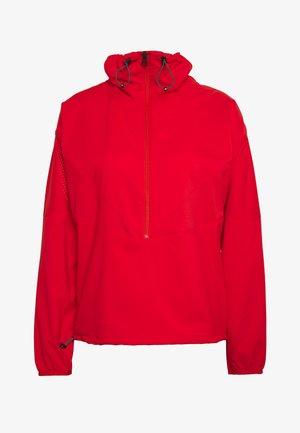 HIT HALF ZIP - Windbreaker - vibrant red