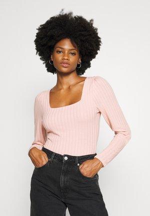 ODESSA BODY - Long sleeved top - rose chou
