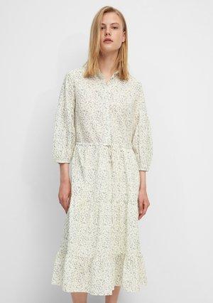 Shirt dress - multi pistacchio shell