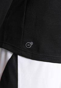 Puma - LIGA TRAINING ZIP - T-shirt de sport - black/white - 3