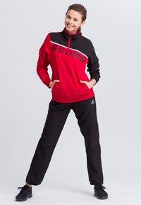 Erima - Sports jacket - red/black/white - 1
