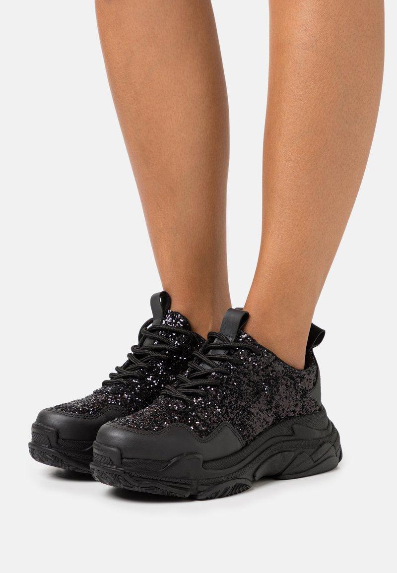 Nly by Nelly - HYPER - Sneakersy niskie - black