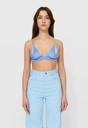 Bustier - mottled blue