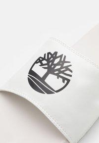 Timberland - PLAYA SPORTS SLIDE - Mules - white/black - 5