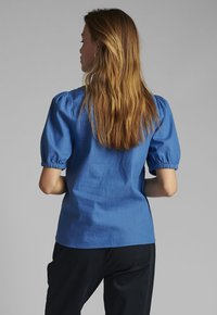 Nümph - Button-down blouse - medium blue denim - 1