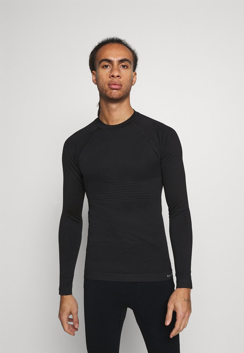 NU-IN - COMPRESSION LONG SLEEVE - Long sleeved top - black
