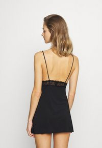 Nly by Nelly - SOFT DREAM DRESS - Nightie - black - 2
