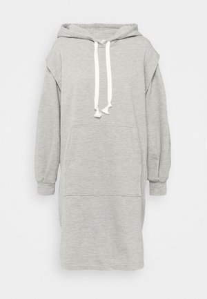 MISKA DRESS - Day dress - grey melange