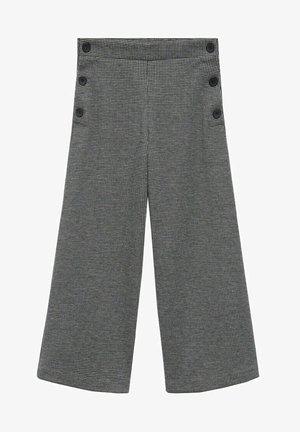 IVANKA - Kalhoty - gris chiné foncé