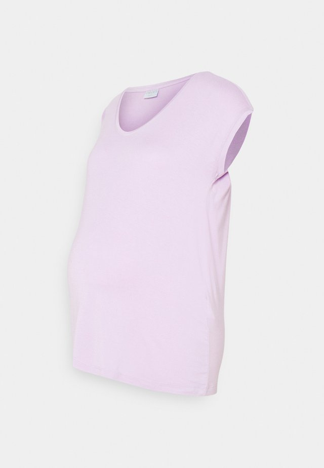PCMBILLO TEE SOLID - Jednoduché triko - orchid bloom