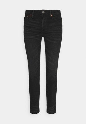 CROPPED - Slim fit jeans - black