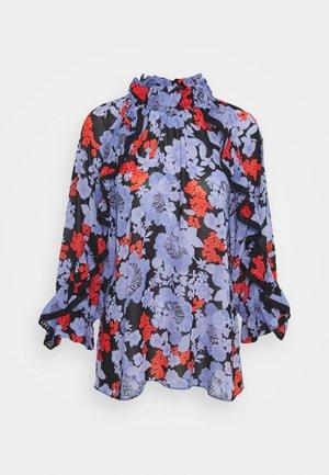 JULIA PRINT - Long sleeved top - black