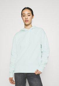 Nike Sportswear - HOODIE TREND - Sweatshirt - barely green/white - 0