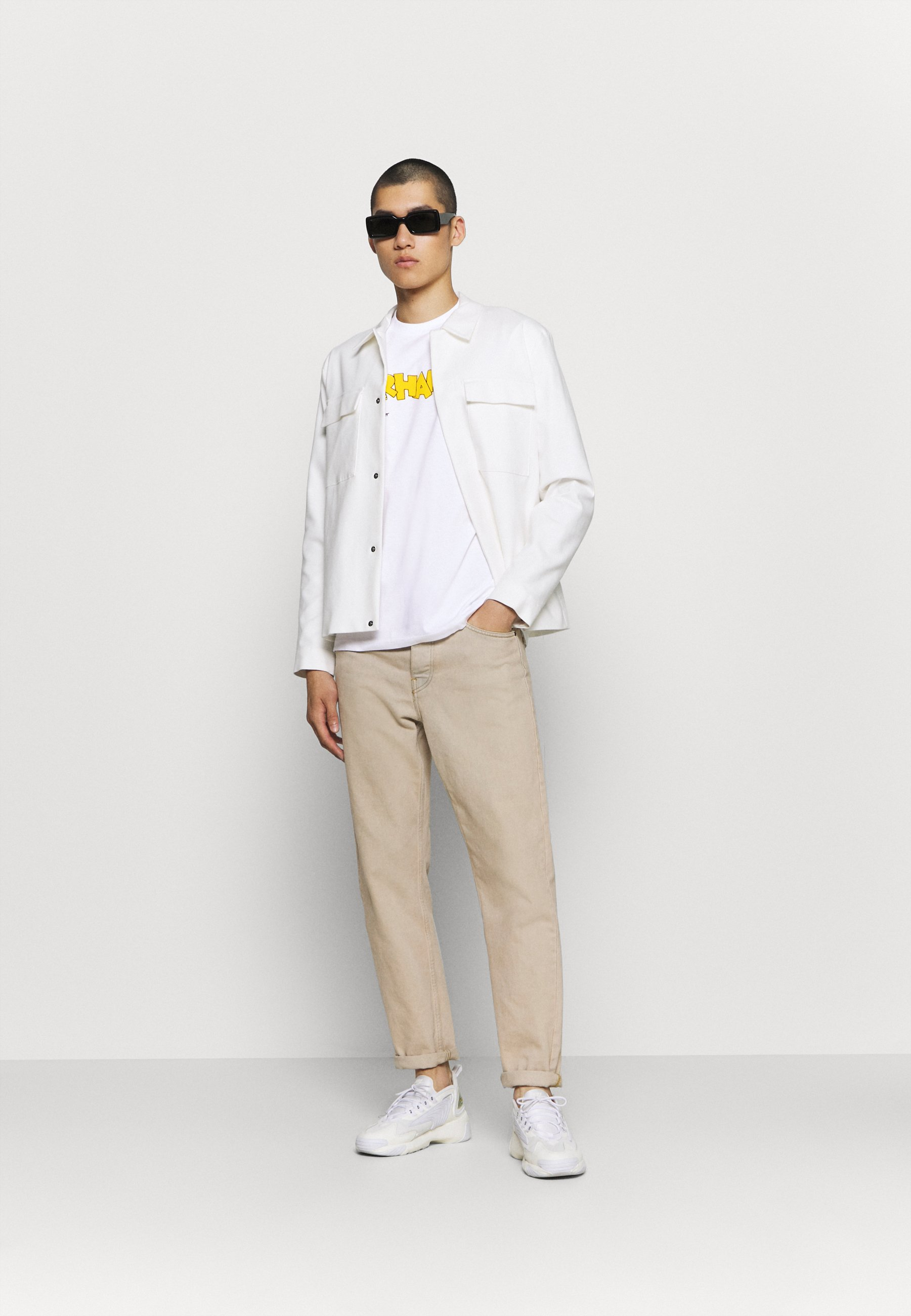 Carhartt Wip Loony Script - T-shirts Med Print White
