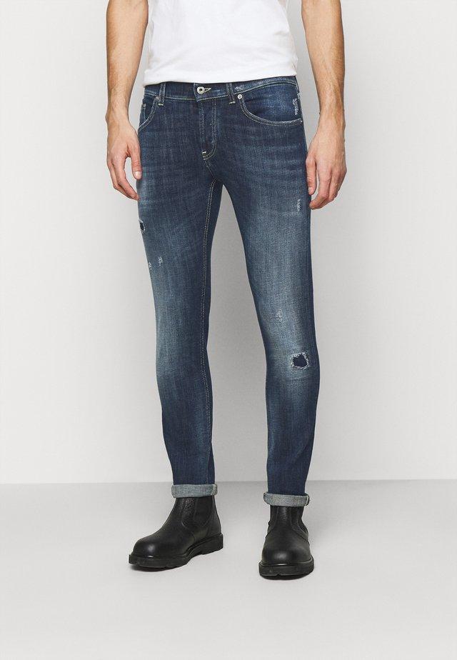 PANTALONE MIUS - Slim fit jeans - blue denim