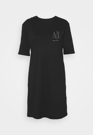 VESTITO - Jersey dress - black