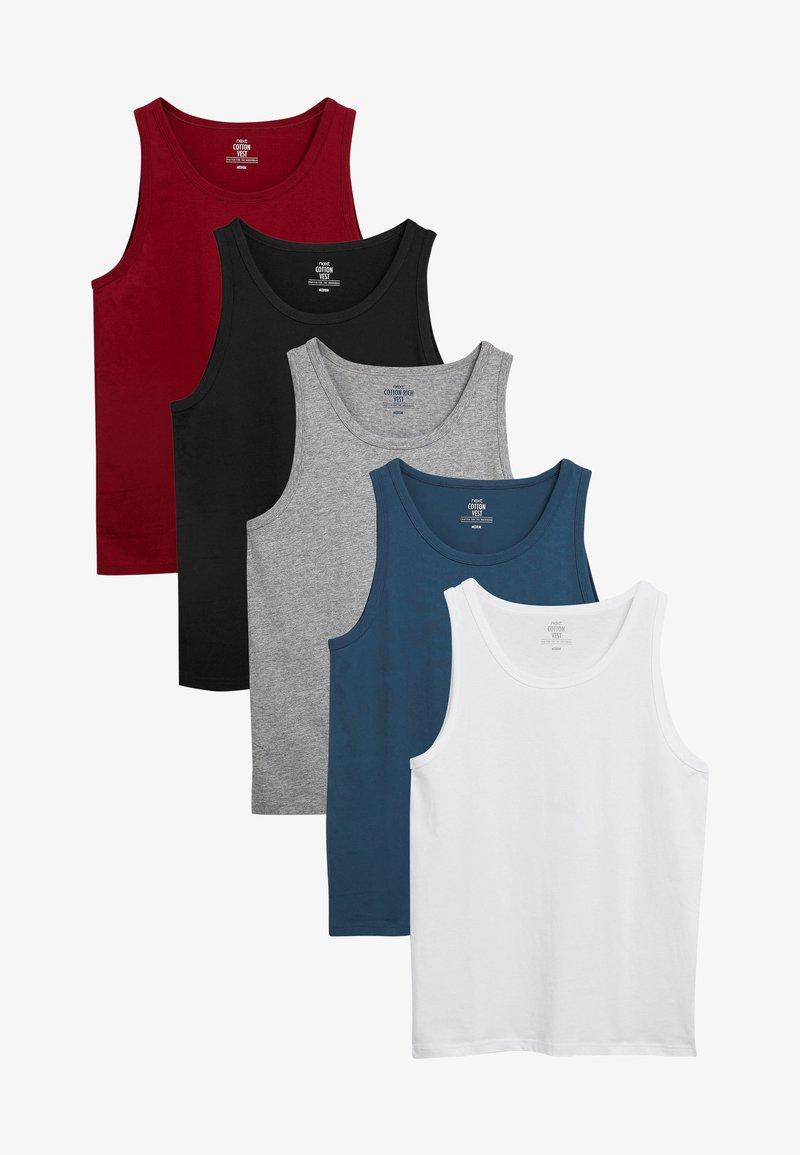 Next - FIVE PACK - Undershirt - blue