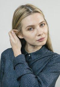 Brava Fabrics - Button-down blouse - blue - 3