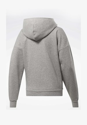 TRAINING ESSENTIALS FULL-ZIP HOODIE - Hettejakke - grey