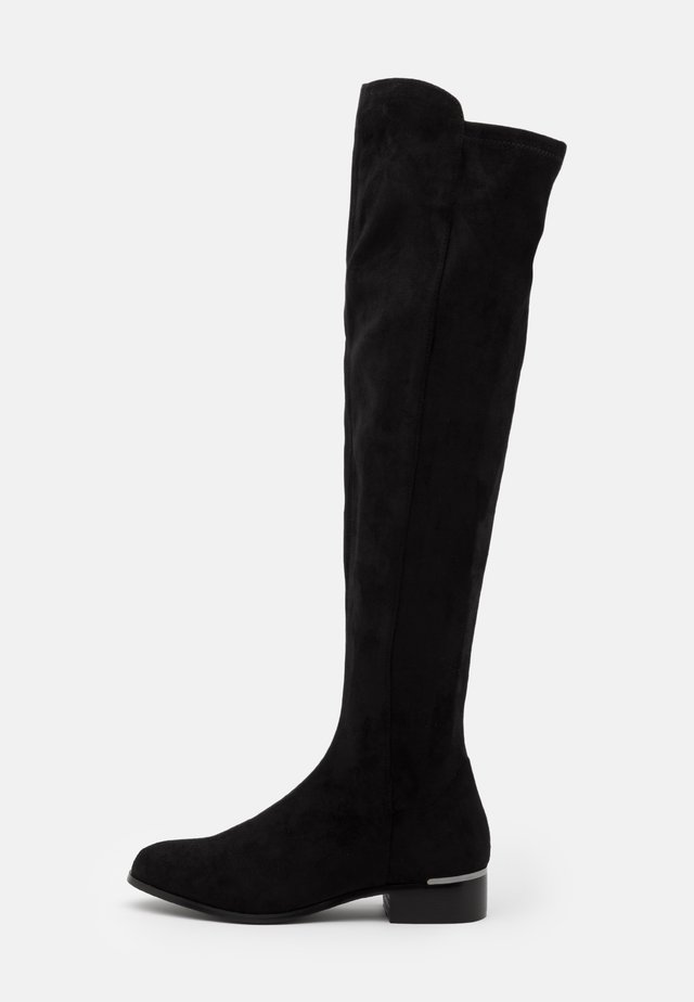 ABI - Kozačky nad kolena - noir