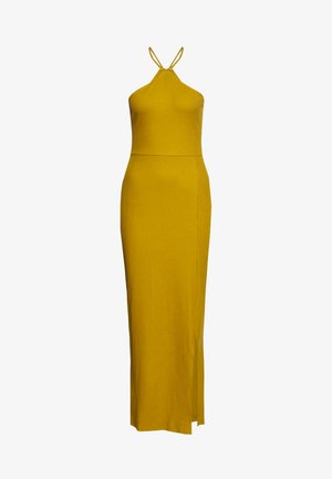 Vestido largo - ecru olive