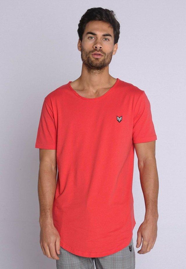 T-shirt basic - salmon