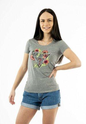 REBECCA - T-shirt imprimé - gris