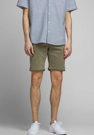 Jeans Short / cowboy shorts - dusty olive