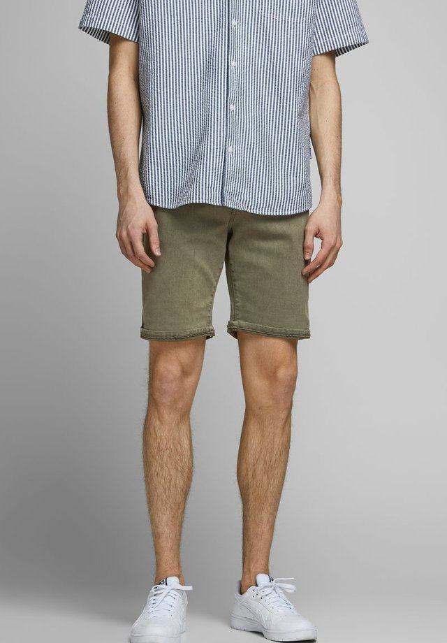 Jeans Shorts - dusty olive