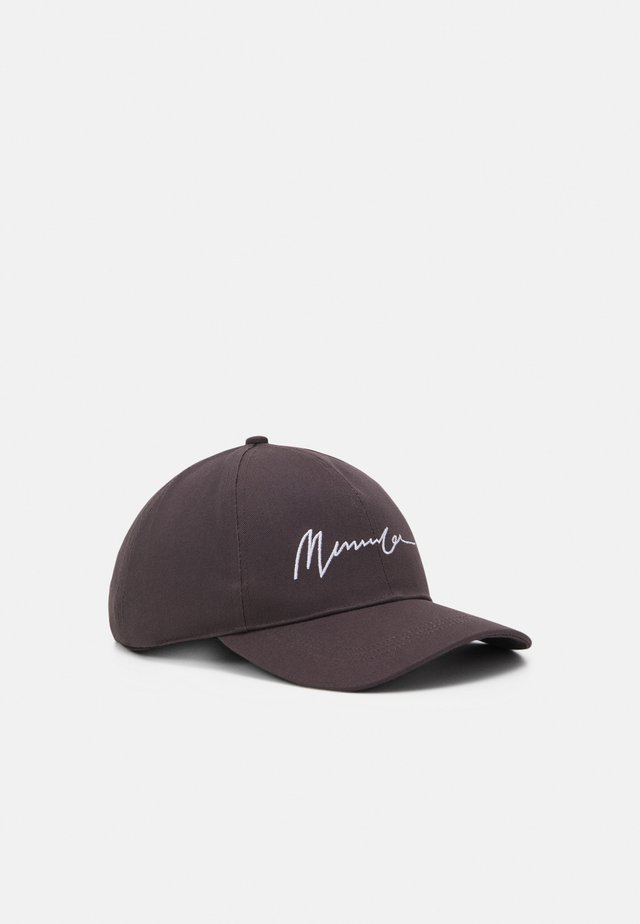 EMBROIDERED LOGO UNISEX - Cap - dark grey