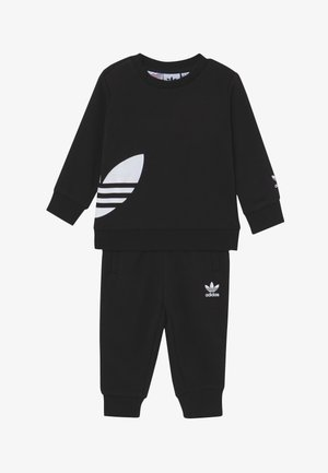 BIG TREFOILCREW SET - Tracksuit - black/white