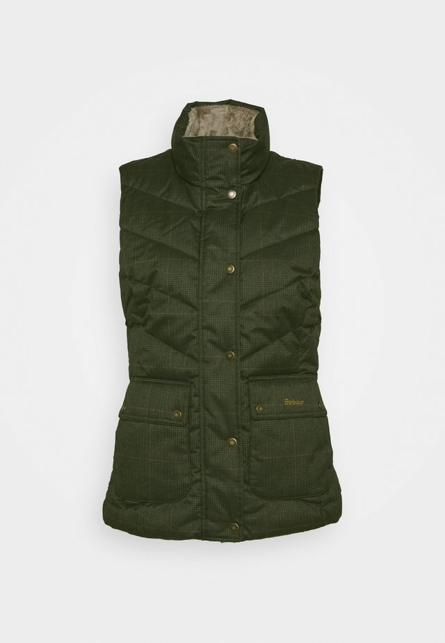 KINGSTON GILET - Veste sans manches - olive