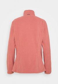 Vaude - WOMENS ROSEMOOR JACKET - Fleece jacket - dusty rose - 1