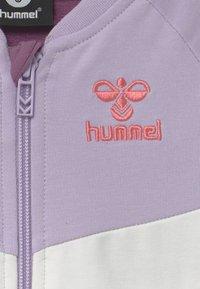 Hummel - VIOLA ZIP UNISEX - Zip-up hoodie - pastel lilac - 2
